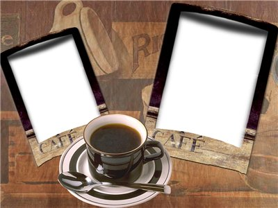 Coffee frames for photoshop